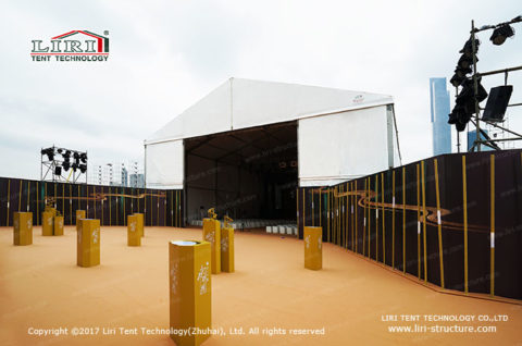 Temporary Buildings tent introduce