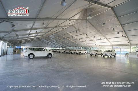 Vehicle Workshops Tent Structure