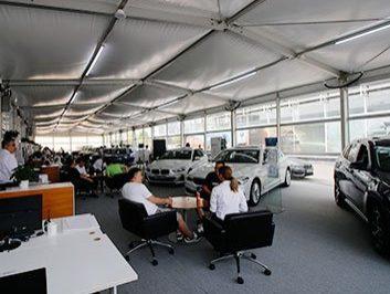 Vehicle Workshops Tent Structure 4
