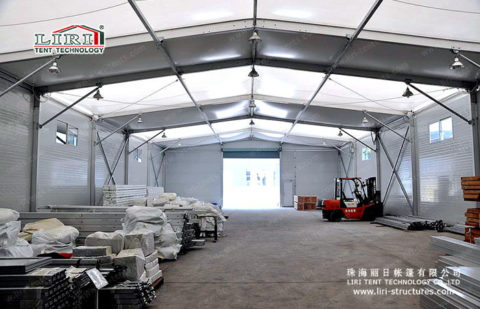 Loading canopy tent