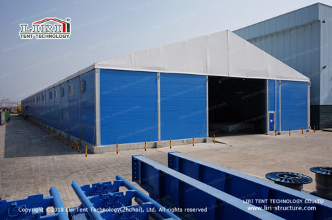 Logistical Loading Bay Canopy Tent (2)