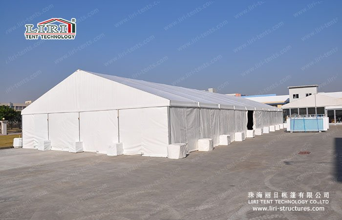 Logistical Loading Bay Canopy Tent & Industrial Storage Tents | Workshop Tent - Liri Tent Structure