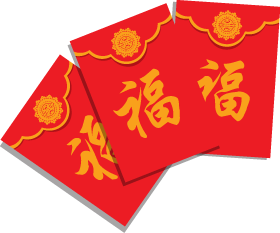 A red envelope