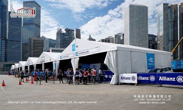 Outdoor Event Tent For Formula E