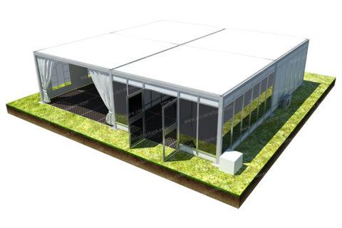 Modular Cube Tent