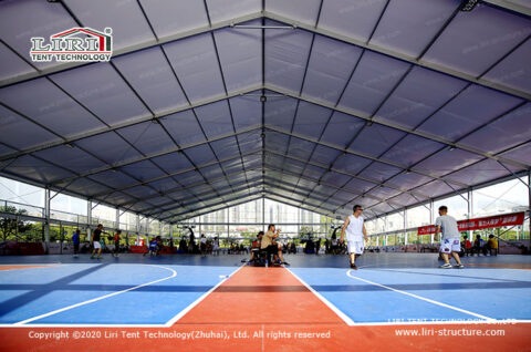 big sports game tent for basketball court