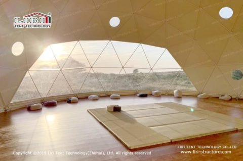 Geodesic Dome Tent For Yoga
