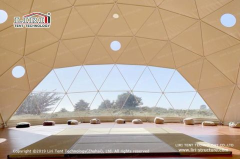 Geodesic Sports Domes tent