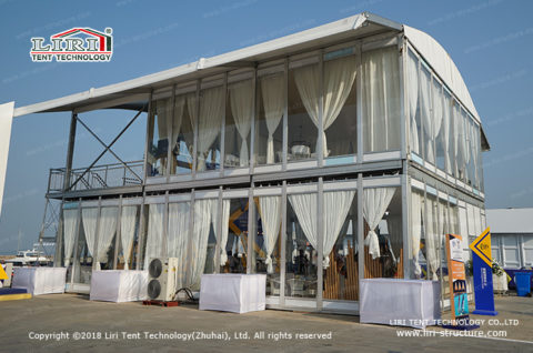 Glass Wall tent