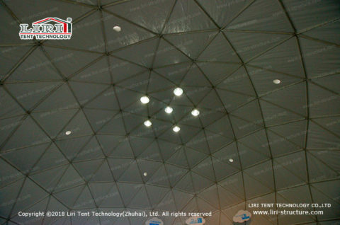 sports dome modelling