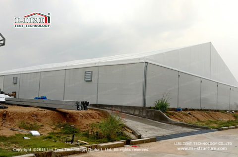 Temporary Buildings for Workshop