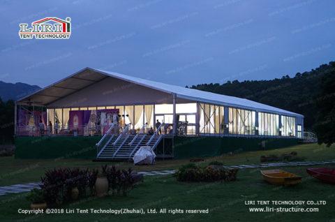 glass tent rental