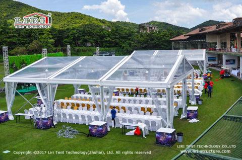 wedding banquet tent