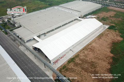 aluminum frame storage tent