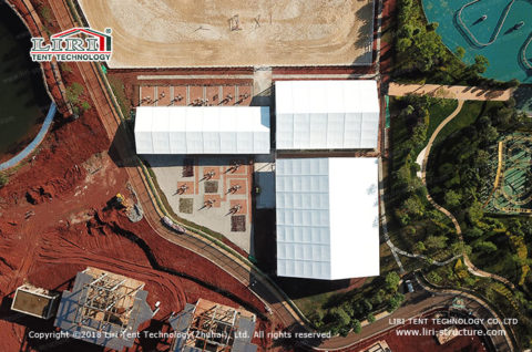 Indoor Horse Riding Arena | Covered Riding Arena - Liri Tent