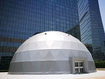 event dome shade structure