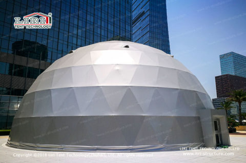 geodesic dome event
