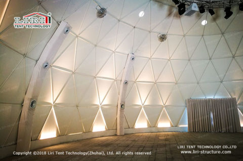 geodesic event dome