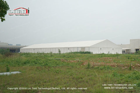 storage building tent