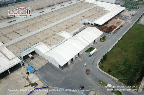 temporary fabric storage buildings
