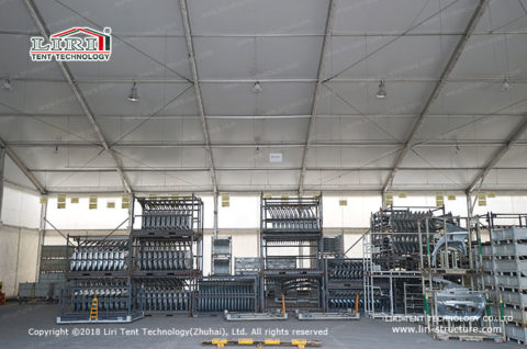 temporary storage buildings for moving