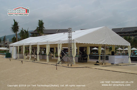 used party marquee tents