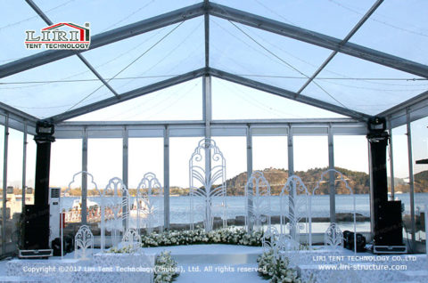 Glass Wedding Tent sales