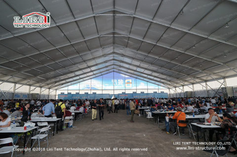 Industrial Lunch Tents