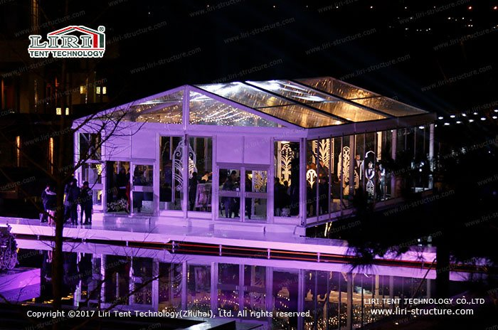 Glass Wedding Tent | Glass Marquee Wedding Venues - Liri ...