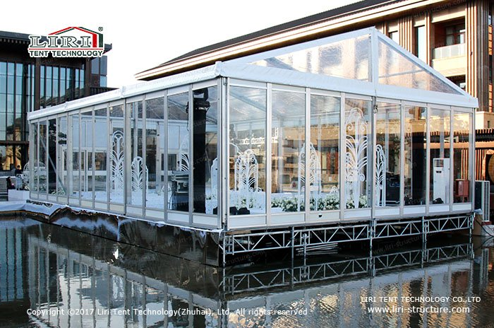 Glass Wedding Tent Glass Marquee Wedding Venues Liri