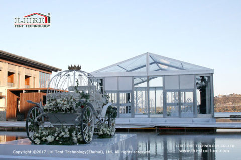 glass wedding tent for sale