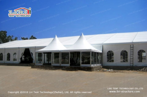 large tent used for commercial function