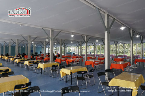 lunch room tent