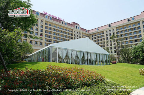 20m frame tent wedding