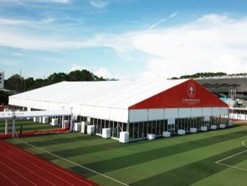 40 x 60 Canopy Tent for Graduation Party
