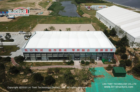 Fabric Buildings for office