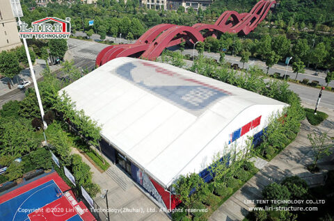 Sports Arena tent 2