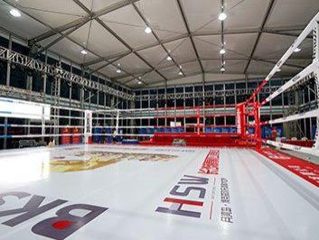 Temporary Boxing Gym