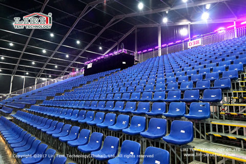 Bleachers for Concerts