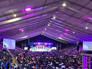 church meeting tent
