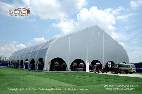 construction indoor football field