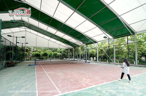 cover roof tennis courts