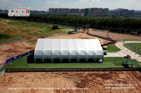 indoor arena football field