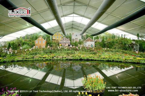 2019 flower show tent