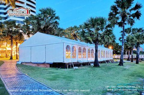 Beach Wedding Tent Decoration