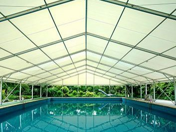 Clear Span Tent Swimming Pool Cover