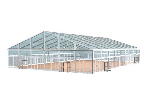 Clear Tent 3d