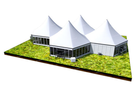 Modular Multi Side Tent