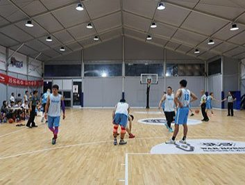 Rooftop Basketball Court Cover Tent