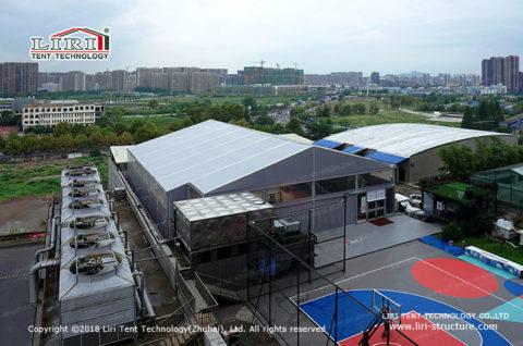gary basketball tent